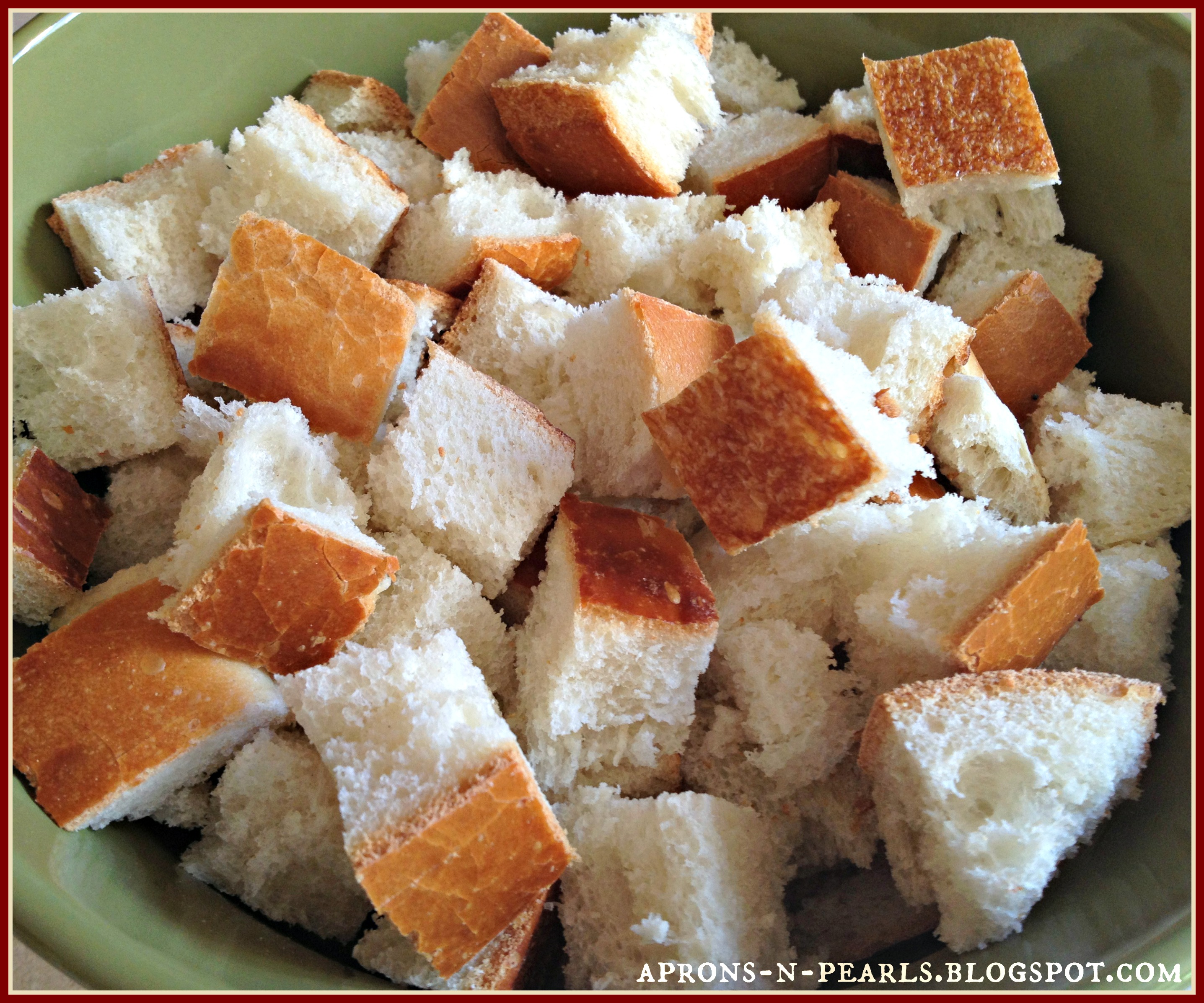 bread pudding 2 - Girlfriends Coffee Hour