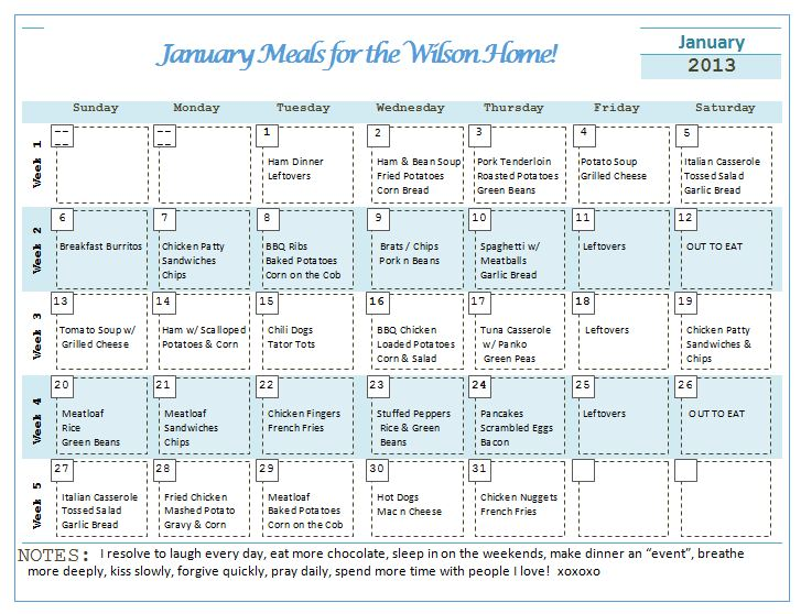 Month of Meals 5: A Menu Planner - Download Books to Computer