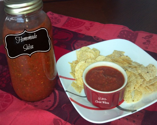 homemade salsa_finished