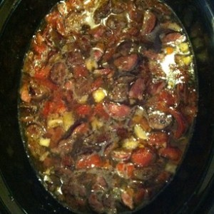 in crock pot
