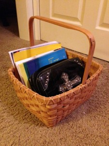 Bible basket