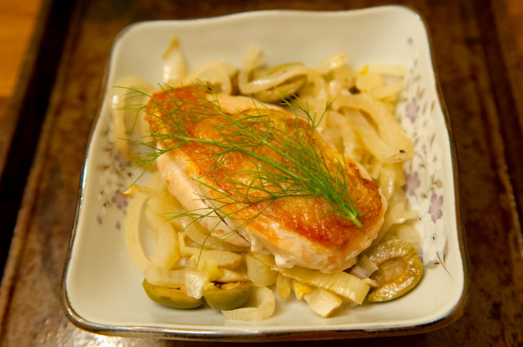 Chicken with Fennel and Olives resize