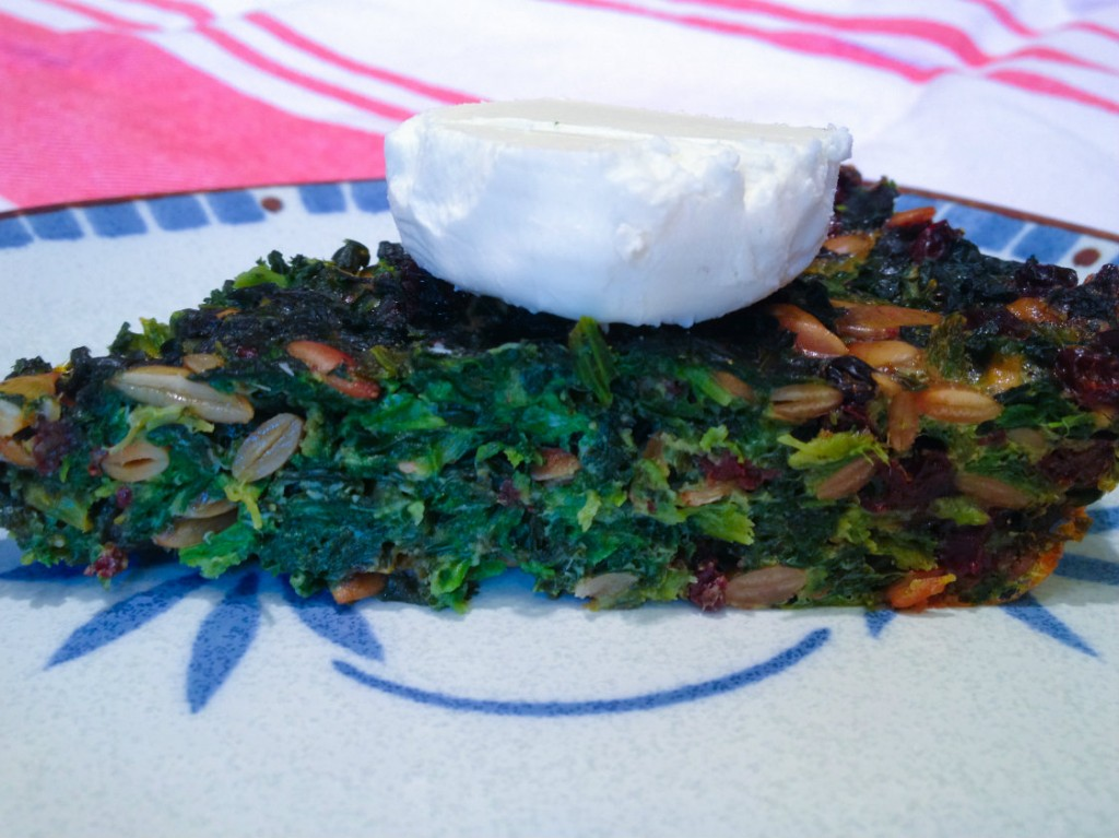 Crustless Kale Quiche Resize
