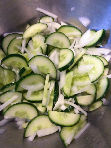 Sweet and Sour Cucumber Salad