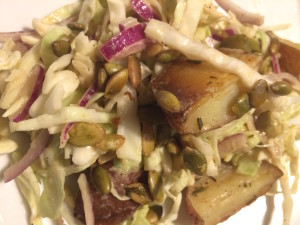 potato cabbage salad